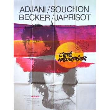 L'ETE MEURTRIER Affiche de film 120x160 cm - 1983 - Isabelle Adjani, Jean Becker