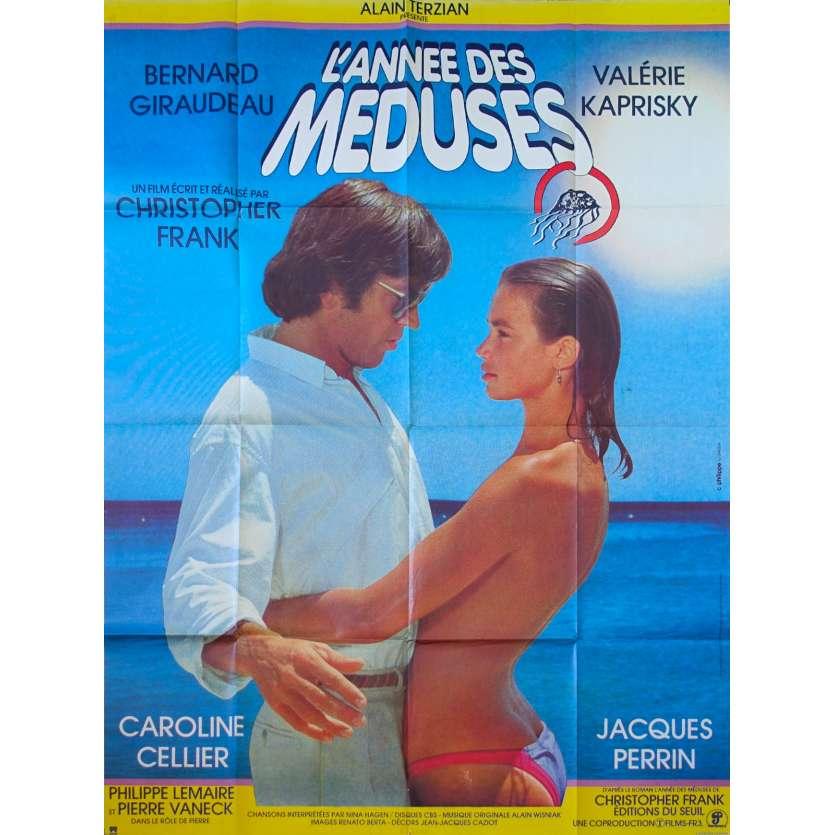 L'ANNEE DES MEDUSES Affiche de film 120x160 - 1984 - Giraudeau, Kaprisky