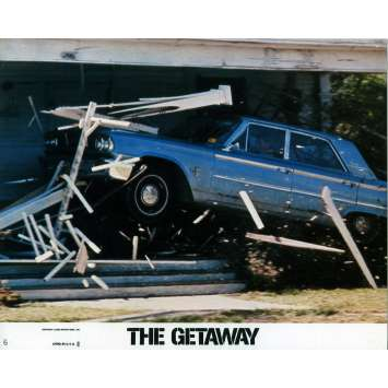 THE GETAWAY Lobby Card 8x10 in. - N05 1972 - Sam Peckinpah, Steve McQueen