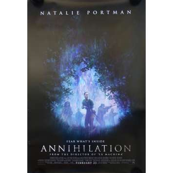 ANNIHILATION Advance Movie Poster - 29x41 in. - 2018 - Alex Garland, Nathalie Portman