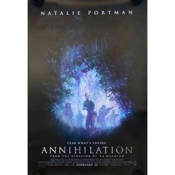 ANNIHILATION Affiche de film Préventive - 69x104 cm. - 2018 - Nathalie Portman, Alex Garland