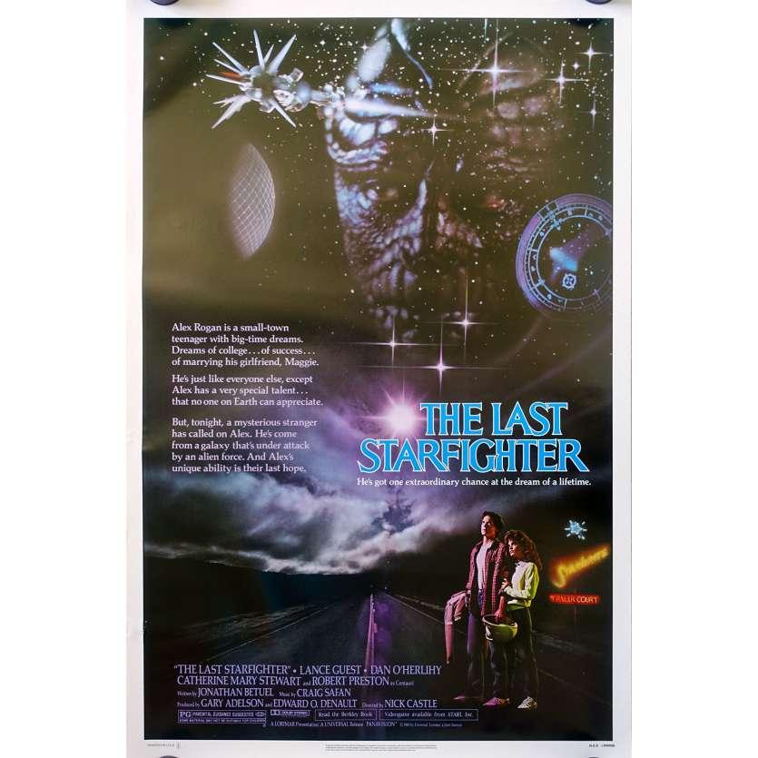 STARFIGHTER Affiche de film US - 69x104 - 1984 - Lance Guest