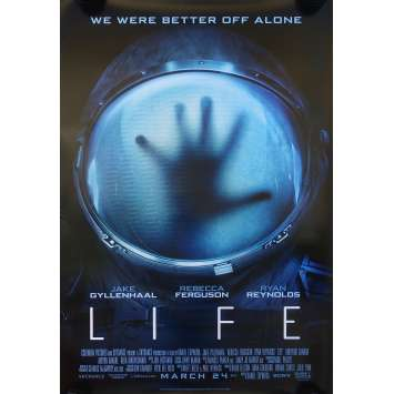 LIFE Movie Poster 27x40 in. - DS 2017 - Daniel Espinosa, Jake Gyllenhaal