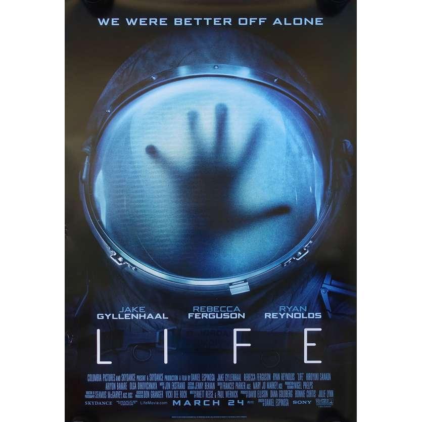 LIFE Movie Poster 27x40 in. - DS 2017 - Daniel Espinosa, Jake Gyllenhaal