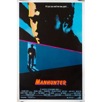 MANHUNTER Movie Poster - 27x41 in. - 1986 - Michael Mann, William Petersen