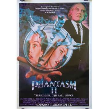 PHANTASM 2 Original Movie Poster Advance - 27x40 in. - 1988 - Don Coscarelli, Angus Scrimm