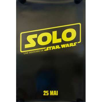 SOLO Original Movie Poster - 27x40 in. - 2018 - Ron Howard, Woody Harrelson
