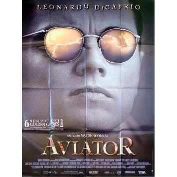 AVIATOR Affiche de film 120x160 - 2004 - Martin Scorsese, Leonardo di Caprio
