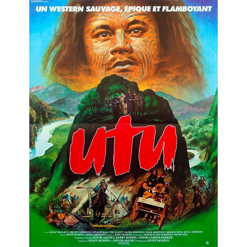 UTU French Movie Poster 15x21 '84 Geof Murphy