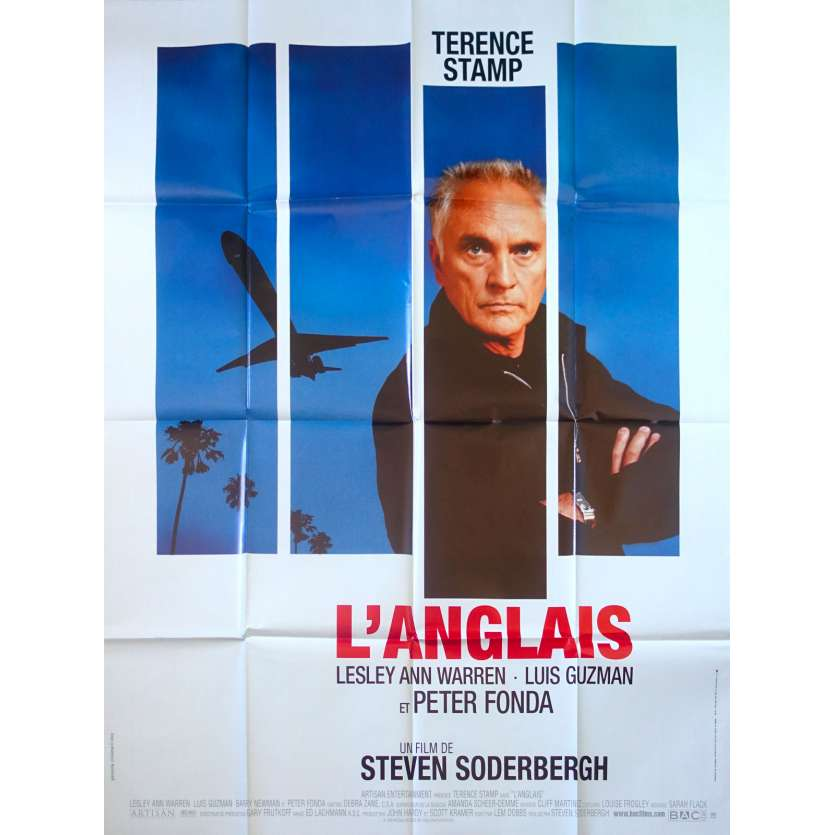 THE LIMEY French Movie Poster 47x63 - 1999 - Steven Soderbergh, Terence Stamp