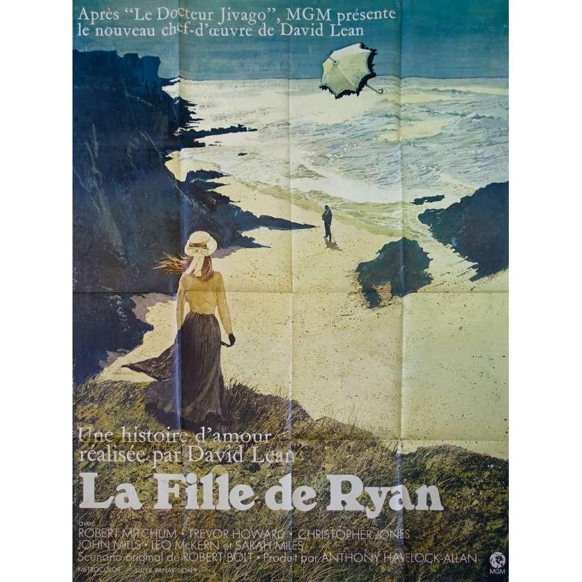 LA FILLE DE RYAN Affiche de film - 120x160 cm. - 1970 - Robert Mitchum, David Lean