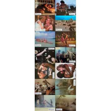 THE HURRICANE Original Lobby Cards x14 - 9x12 in. - 1979 - Jan Troell, Max Von Sidow