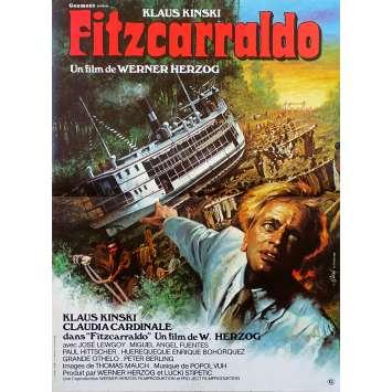 FITZCARRALDO Original Movie Poster - 15x21 in. - 1982 - Werner Herzog, Klaus Kinski