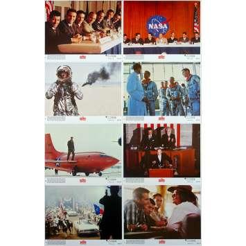 L'ETOFFE DES HEROS Photos de film x8 - 20x25 cm. - 1983 - Sam Sheppard, Philip Kaufman