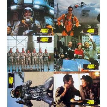 L'ETOFFE DES HEROS Photos de film Jeu A - x6 - 21x30 cm. - 1983 - Sam Sheppard, Philip Kaufman