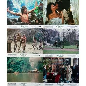 GREYSTOKE Photos de film x6 - 20x25 cm. - 1984 - Christophe Lambert, Hugh Hudson