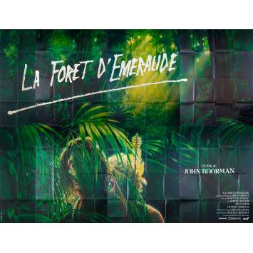 EMERALD FOREST Original Movie Poster - 158x118 in. - 1985 - John Boorman, Powers Boothe