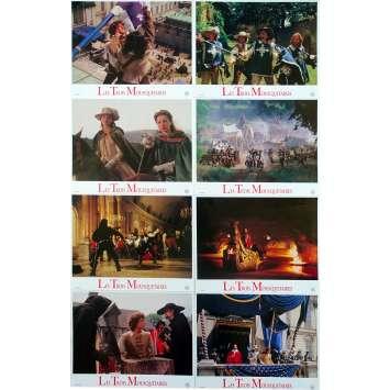 LES TROIS MOUSQUETAIRES Photos de film x8 - 21x30 cm. - 1993 - Charlie Sheen, Stephen Herek