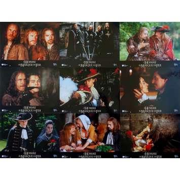 L'HOMME AU MASQUE DE FER Photos de film x9 - 21x30 cm. - 1998 - Leonardo DiCaprio, Randall Wallace