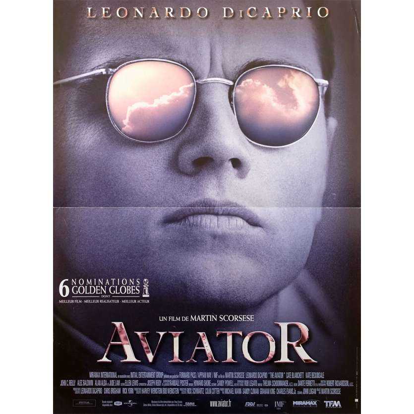 AVIATOR Original Movie Poster - 15x21 in. - 2004 - Martin Scorsese, Leonardo DiCaprio