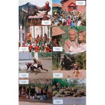 TUSK Photos de film x8 - 21x30 cm. - 1980 - Cyrielle Clair, Alejandro Jodorowsky