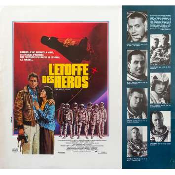 L'ETOFFE DES HEROS Synopsis - 21x30 cm. - 1983 - Sam Sheppard, Philip Kaufman