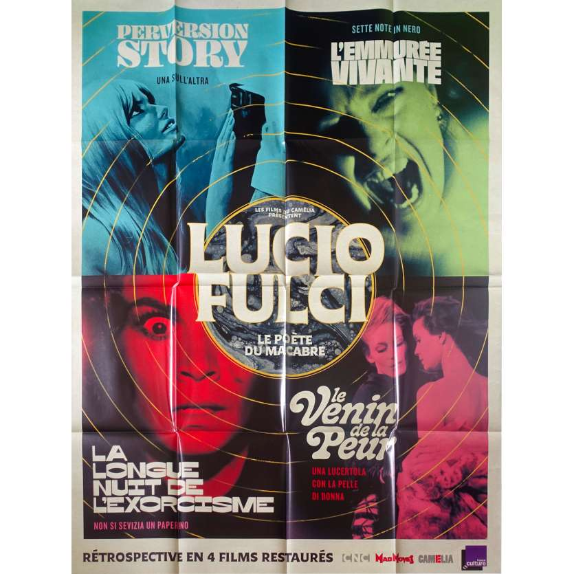LUCIO FULCI LE POETE DU MACABRE Original Movie Poster - 47x63 in. - 2019 - Lucio Fulci, Florinda Bolkan