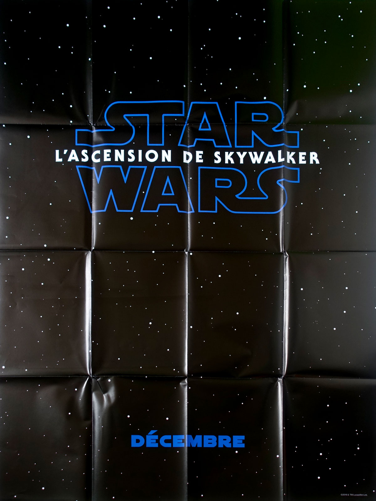 Star Wars The Rise Of Skywalker Viii 8 Movie Poster 47x63 In