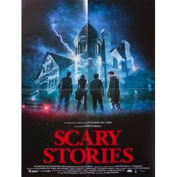 SCARY STORIES Affiche de film - 40x60 cm. - 2019 - Zoe Margaret Colletti, André Øvredal