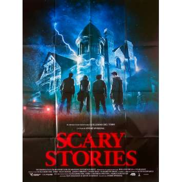 SCARY STORIES Affiche de film - 120x160 cm. - 2019 - Zoe Margaret Colletti, André Øvredal