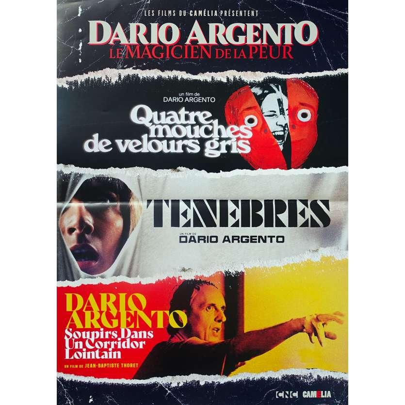 DARIO ARGENTO LE MAGICIEN DE LA PEUR Original Movie Poster - 15x21 in. - 2019 - Dario Argento, Daria Nicolodi