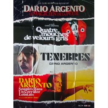 DARIO ARGENTO LE MAGICIEN DE LA PEUR Original Movie Poster - 47x63 in. - 2019 - Dario Argento, Daria Nicolodi