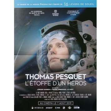 THOMAS PESQUET THE RIGHT STUFF Original Movie Poster - 15x21 in. - 2019 - Jürgen Hansen, Thomas Pesquet