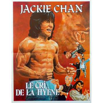 LE CRI DE LA HYENE Affiche de film 40x60 cm - 1983 - Jackie Chan, Chuan Chen