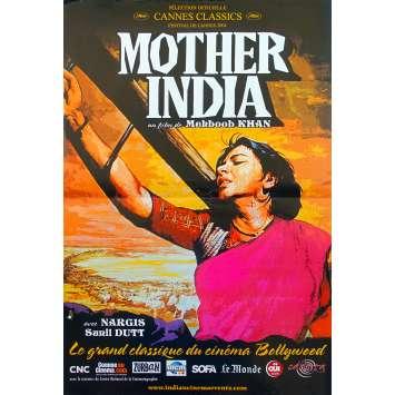 MOTHER INDIA Affiche de film - 40x60 cm. - R2000 - Nargis, Mehboob Khan