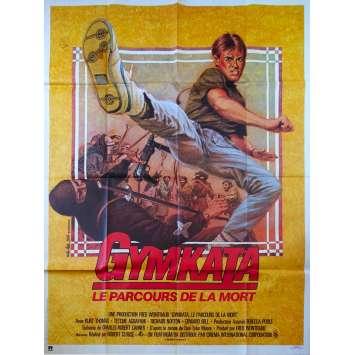 GYMKATA Original Movie Poster - 47x63 in. - 1985 - Robert Clouse, Kurt Thomas