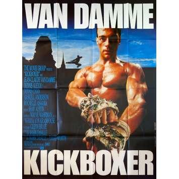 KICKBOXER Affiche de film - 120x160 cm. - 1989 - Jean-Claude Van Damme, Mark DiSalle