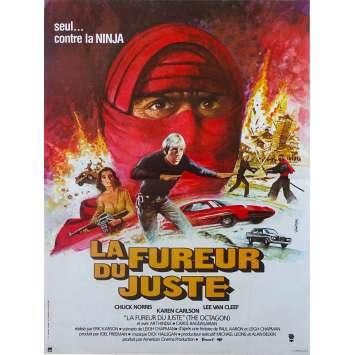 LA FUREUR DU JUSTE Affiche de film - 40x60 cm. - 1980 - Chuck Norris, Eric Karson