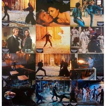 THE OCTAGON Original Lobby Cards x12 - 9x12 in. - 1980 - Eric Karson, Chuck Norris