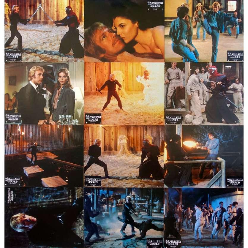 LA FUREUR DU JUSTE Photos de film x12 - 21x30 cm. - 1980 - Chuck Norris, Eric Karson
