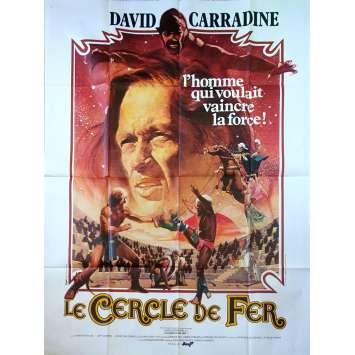 LE CERCLE DE FER Affiche de film - 120x160 cm. - 1978 - David Carradine, Richard Moore