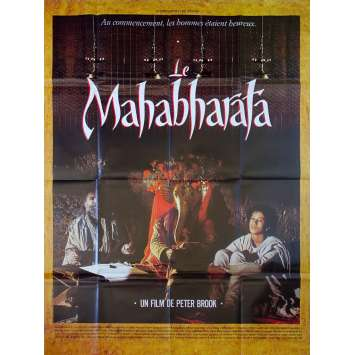 THE MAHABHARATA Original Movie Poster - 47x63 in. - 1989 - Peter Brooks, Erika Alexander