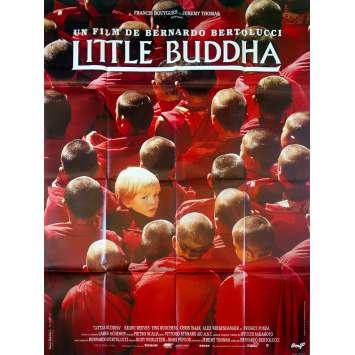 LITTLE BUDDHA Original Movie Poster - 47x63 in. - 1993 - Bernardo Bertolucci, Keanu Reeves