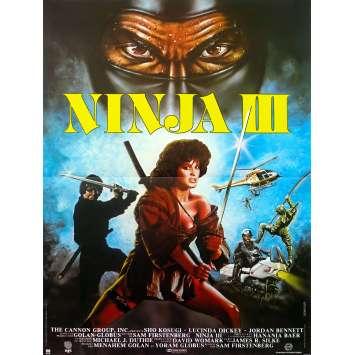 NINJA III Affiche de film - 40x60 cm. - 1984 - Shô Kosugi, Sam Firstenberg