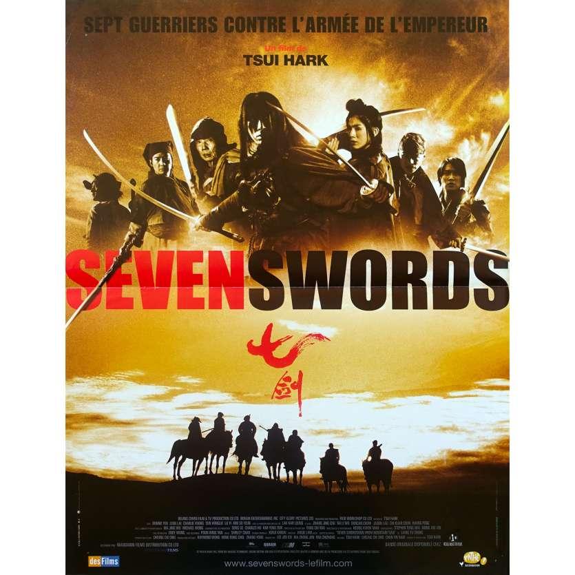 SEVEN SWORDS Affiche de film - 40x60 cm. - 2005 - Donnie Yen, Tsui Hark