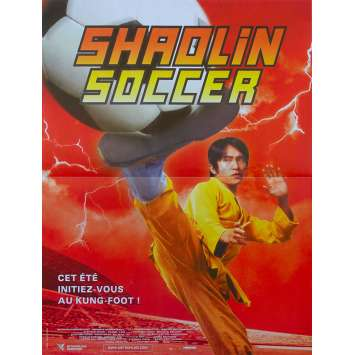 SHAOLIN SOCCER Original Movie Poster - 15x21 in. - 2001 - Stephen Chow, Zhao Wei