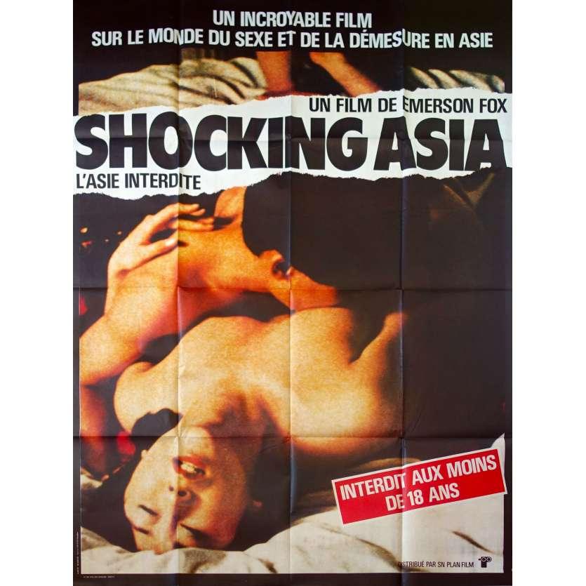 SHOCKING ASIA Original Movie Poster - 47x63 in. - 1981 - Rolf Olsen, Rolf Olsen