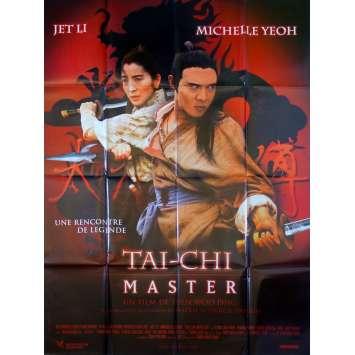 TAI CHI MASTER Original Movie Poster - 47x63 in. - 1993 - Yuen Woo-Ping, Jet Li, Michelle Yeoh