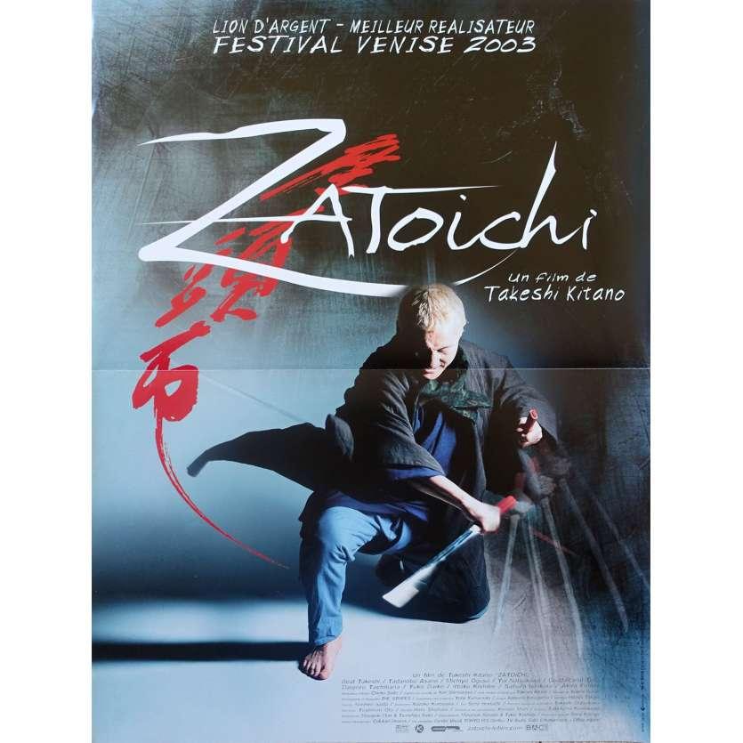 ZATOICHI Affiche de film - 40x60 cm. - 2003 - Tadanobu Asano, Takeshi Kitano