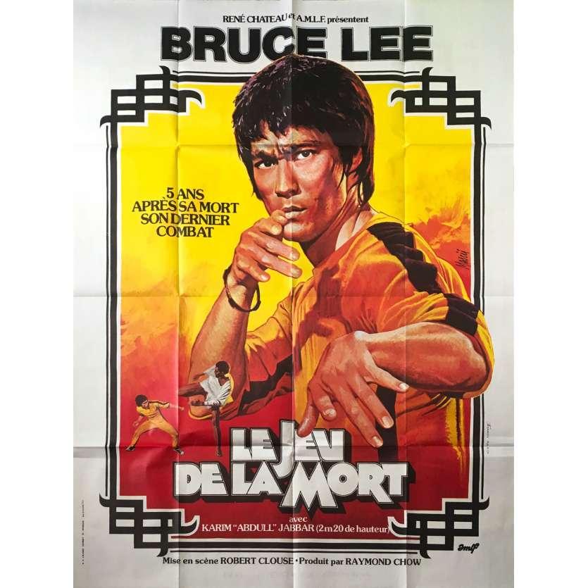 LE JEU DE LA MORT Affiche de Film 120x160 - 1978 - Bruce Lee, Lo Wei